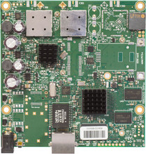 MikroTik RB911G-5HPacD 720Mhz CPU, 128MB RAM, 1xGigabit Ethernet, onboard 802.11ac Two Chain 5Ghz wireless, RouterOS L3 (RB911G-5HPacD)