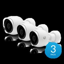 Ubiquiti UVC-G3-Bullet-3 UniFi G3 Series 1080p Outdoor Bullet Camera (3-Pack) (UVC-G3-Bullet-3)