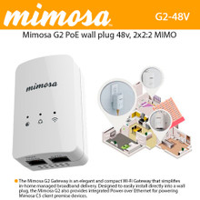 G2-NA, Mimosa In-Home 2.4GHz 802.11n Wi-Fi Gateway with Router and Access Point (100-00034)