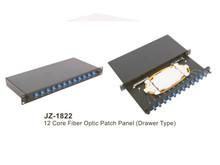 12 Core Fiber Optic Patch Panel JZ-1822