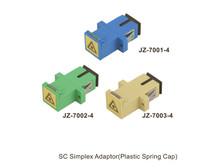 SC Simplex Adapter(Plastic Spring Cap) JZ-7002-4