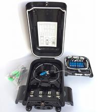 16 Core Fiber Optic Distribution Box - 1x8 MiniAPC (JZ-1361-16I-1x8M-APC)