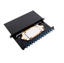 12 Core Fiber Optic Patch Panel APC (JZ-1821-APC)