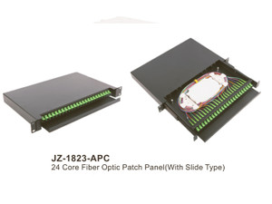 24 Core Fiber Optic Patch Panel APC (JZ-1823-APC)