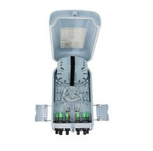Outdoor Waterproof Fiber Distribution Box FTTH FTTX FTB FTP OTB FDB Indoor Black 4 Ports ( JZ-1361-8H)