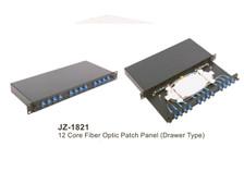 Rack Mount Slide Rail Drawer fiber optic plc splitter fiber Patch Panel Odf rack mounted PLC splitter (JZ-1821)
