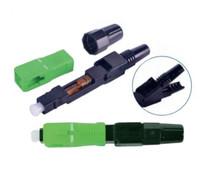 SC Type UPC Fiber Optic Fast Connector (JZ-1901-APC)