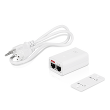 Ubiquiti POE-24-7W-G-WH Power over Ethernet PoE Injector, 24 VDC, 7.2W
