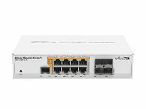 MikroTik CRS112-8P-4S-IN Cloud Router 8-Port 4-SFP L5 Gigabit Switch (CRS112-8P-4S-IN)