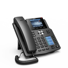 Fanvil X4 4 SIP account IP Phone 2 color LCDs (Main+DSS) PoE HD audio