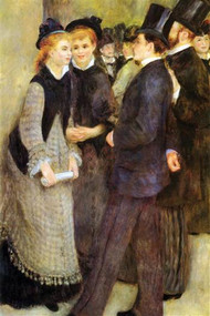 Leaving The Conservatoire by Renoir