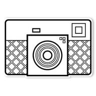 Caleb Gray Studio Coloring: Retro Automatic Camera