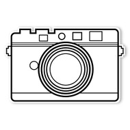 Caleb Gray Studio Coloring: Retro Quick Shot Camera