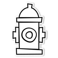 Caleb Gray Studio Coloring: Fire Hydrant