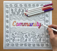 Begsonland Community Doodle Decal