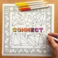 Begsonland Connect Doodle Decal