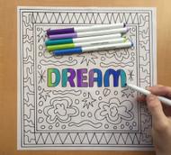Begsonland Dream Doodle Decal