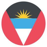 Emoji One Wall Icon Antigua And Barbuda Flag