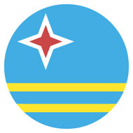 Emoji One Wall Icon Aruba Flag