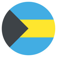 Emoji One Wall Icon The Bahamas Flag