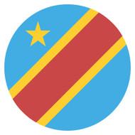 Emoji One Wall Icon The Democratic Republic Of The Congo Flag
