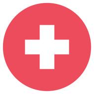 Emoji One Wall Icon Switzerland Flag