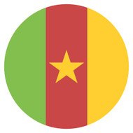 Emoji One Wall Icon Cameroon Flag