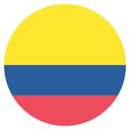 Emoji One Wall Icon Colombia Flag