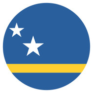 Emoji One Wall Icon Curacao Flag