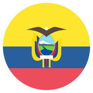 Emoji One Wall Icon Ecuador Flag