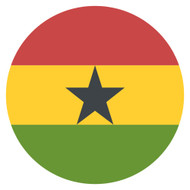 Emoji One Wall Icon Ghana Flag