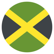 Emoji One Wall Icon Jamaica Flag