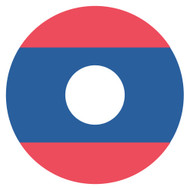 Emoji One Wall Icon Laos Flag