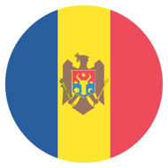 Emoji One Wall Icon Moldova Flag