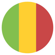 Emoji One Wall Icon Mali Flag