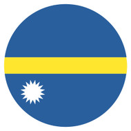 Emoji One Wall Icon Nauru Flag