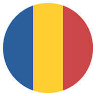 Emoji One Wall Icon Romania Flag