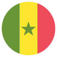 Emoji One Wall Icon Senegal Flag