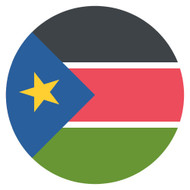 Emoji One Wall Icon South Sudan Flag