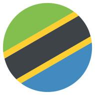 Emoji One Wall Icon Tanzania Flag