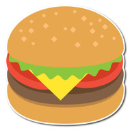 Emoji One Wall Icon Hamburger