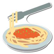 Emoji One Wall Icon Spaghetti