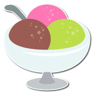 Emoji One Wall Icon Ice Cream