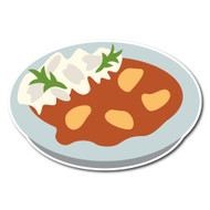 Emoji One Wall Icon Curry And Rice