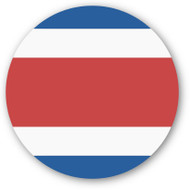 Emoji One Wall Icon Costa Rica Flag