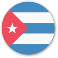 Emoji One Wall Icon Cuba Flag
