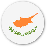 Emoji One Wall Icon Cyprus Flag
