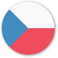 Emoji One Wall Icon The Czech Republic Flag