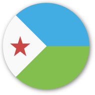 Emoji One Wall Icon Djibouti Flag