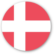 Emoji One Wall Icon Denmark Flag